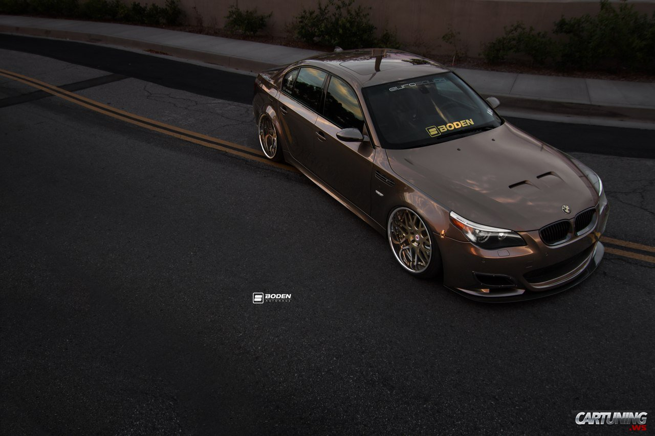 tuning bmw m5 e60 front. Black Bedroom Furniture Sets. Home Design Ideas