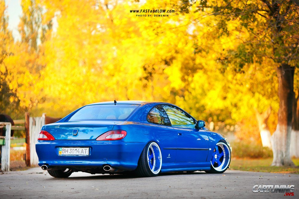 stanced peugeot 406 coupe cartuning best car tuning. Black Bedroom Furniture Sets. Home Design Ideas