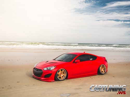 Low Hyundai Genesis Coupe