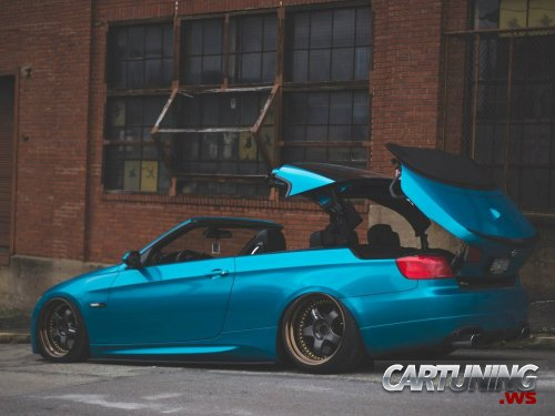 bmw 335i cabrio e93 airlift cartuning best car tuning. Black Bedroom Furniture Sets. Home Design Ideas