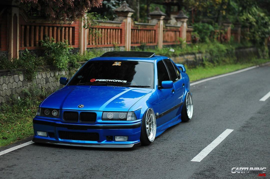 Stance Bmw 328i E36 Front