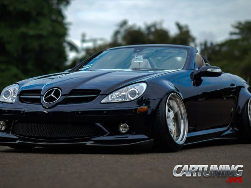 stance mercedes benz slk 280 r171. Black Bedroom Furniture Sets. Home Design Ideas