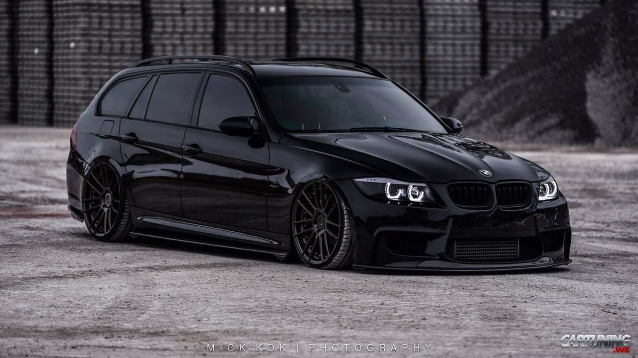 tuning bmw 330d touring e91 front. Black Bedroom Furniture Sets. Home Design Ideas