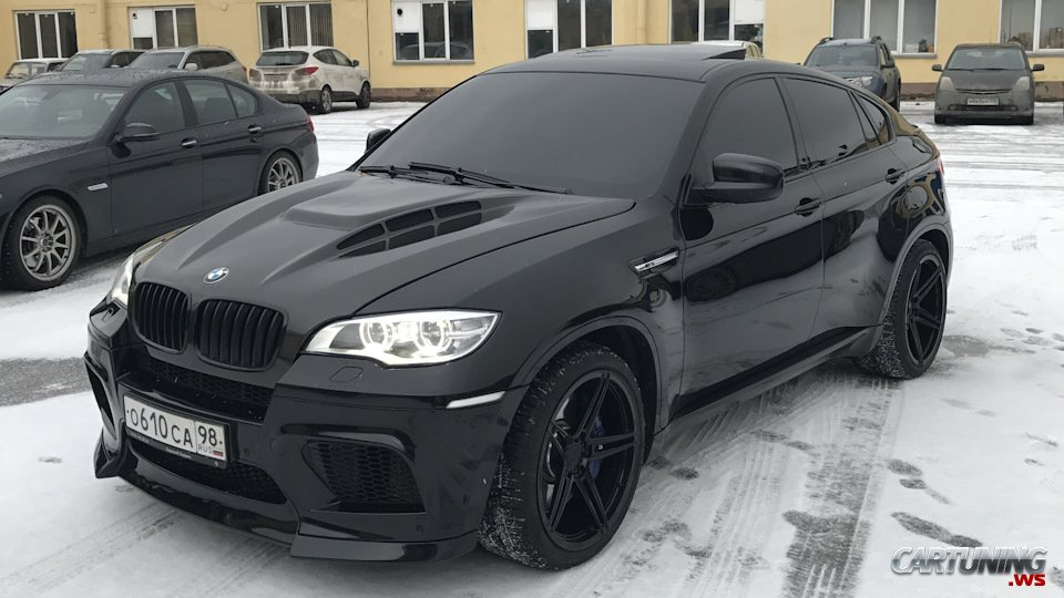 Tuning Bmw X6 M 850 Hp Side