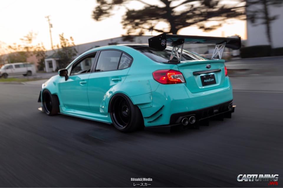 Widebody Subaru Impreza 2015 back