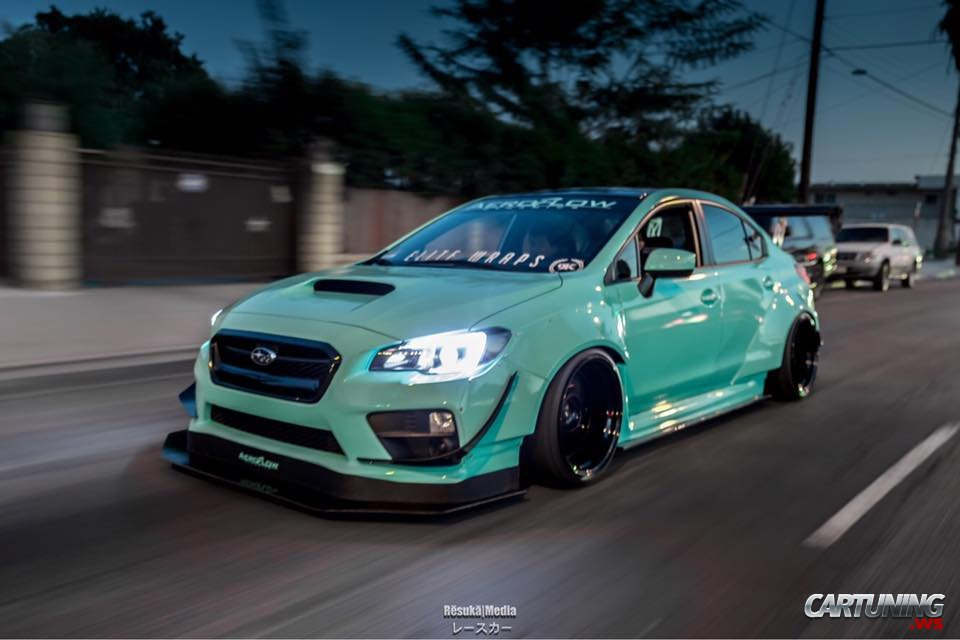 Widebody Subaru Impreza 2015 Side