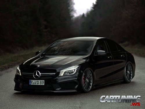 Tuning Mercedes-Benz CLA 250 C117