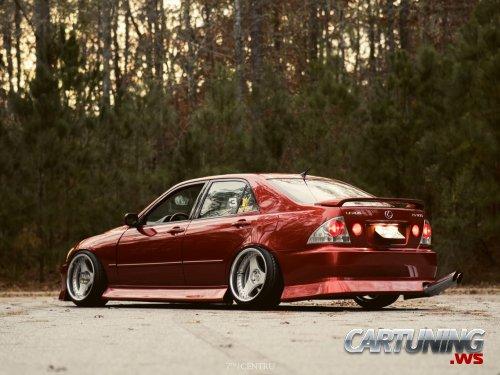 Stance Lexus Is300 Back