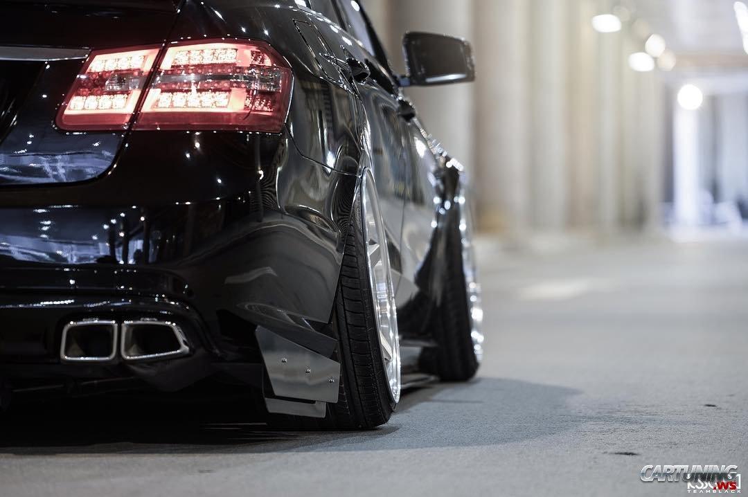 2017 Mercedes Benz E550 >> Stance Mercedes-Benz E550 W212 back