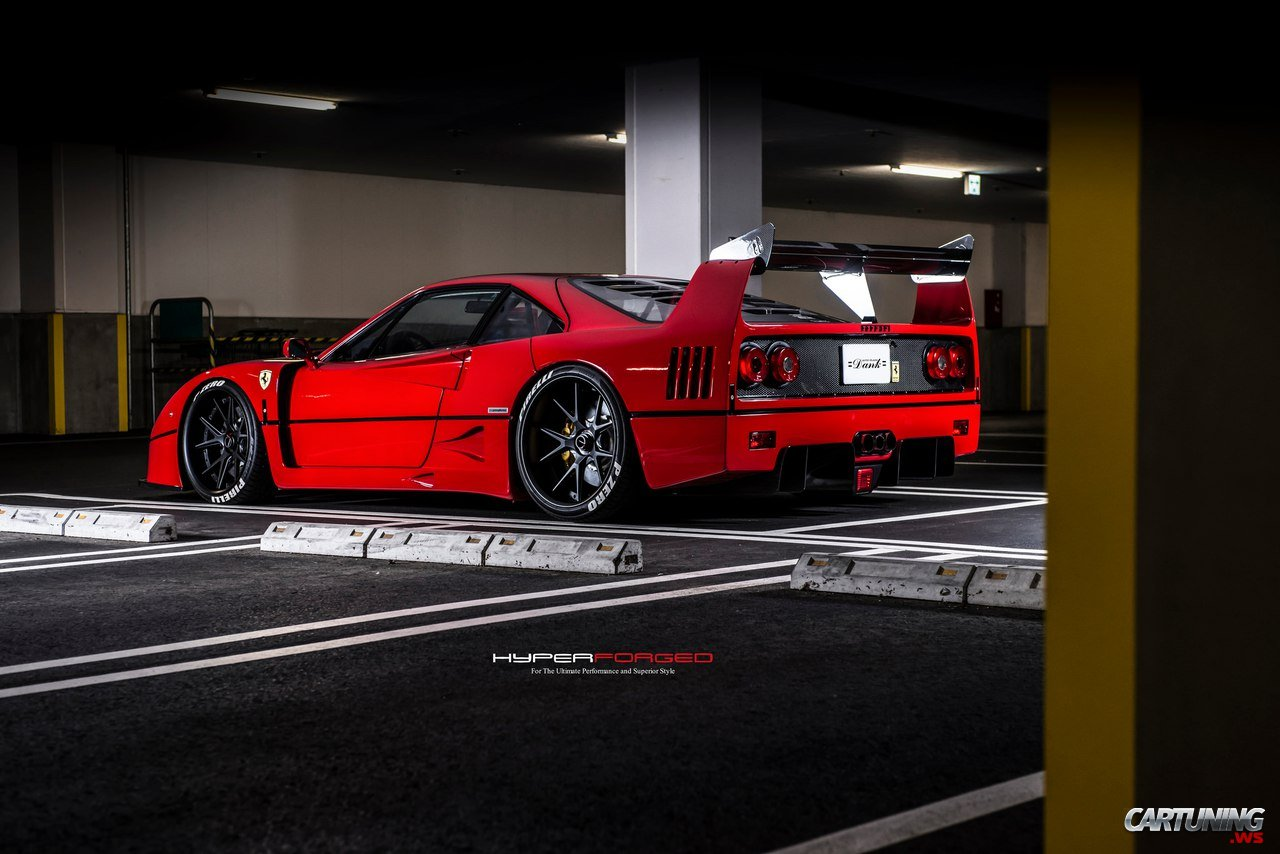 Tuning Ferrari F40 Rear