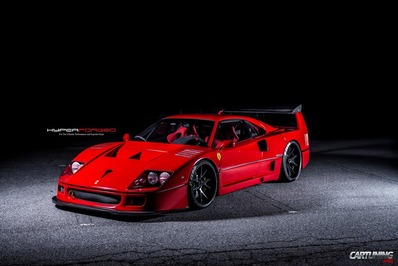 Tuning Ferrari F40 Front