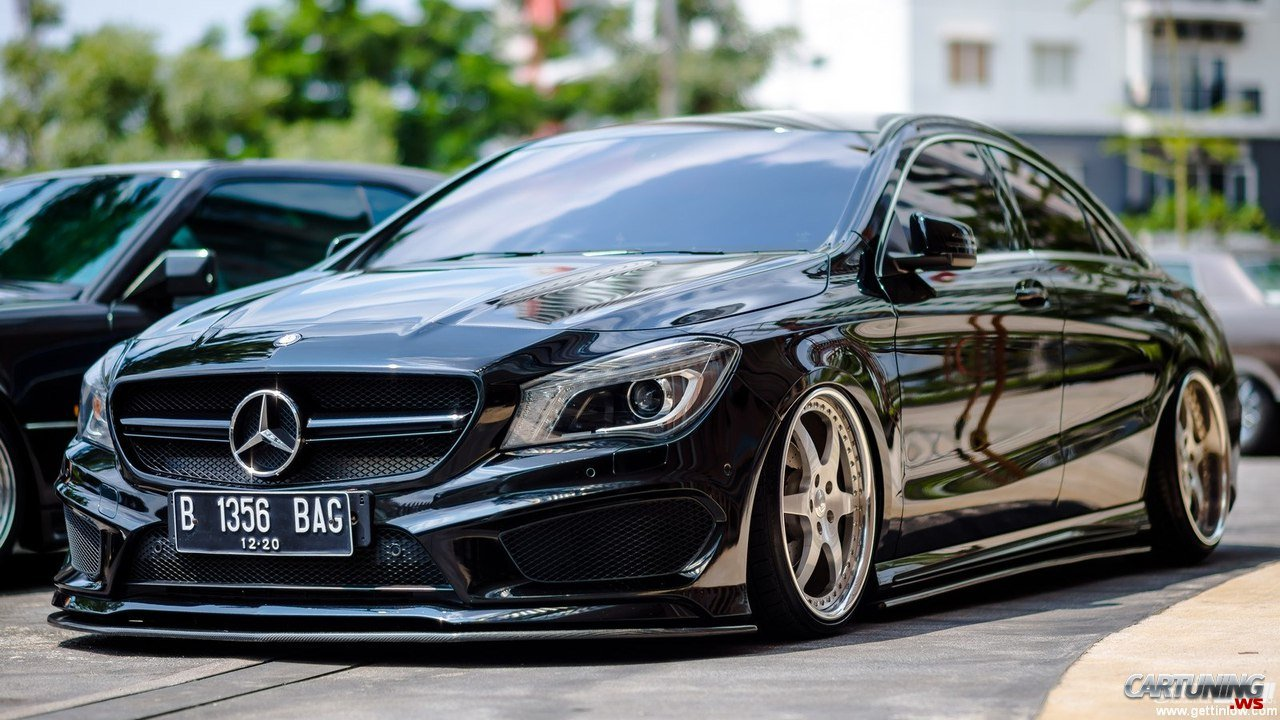 Tuning mercedes benz cla 200 c117 front for Mercedes benz tuning