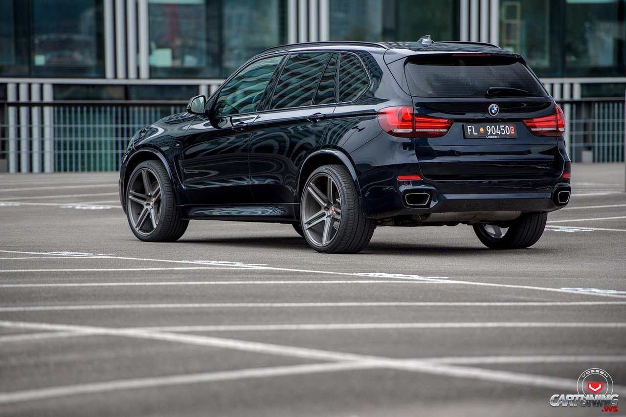 bmw x5 f15 vossen rear. Black Bedroom Furniture Sets. Home Design Ideas