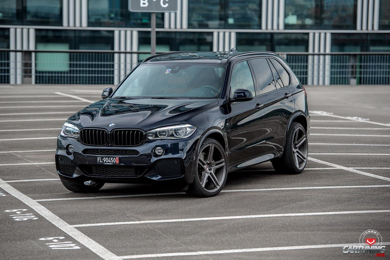 bmw x5 f15 vossen front. Black Bedroom Furniture Sets. Home Design Ideas