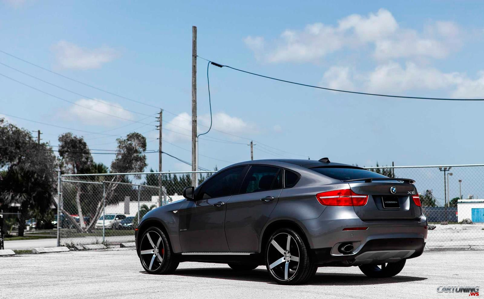 Tuning Bmw X6 E71 Back