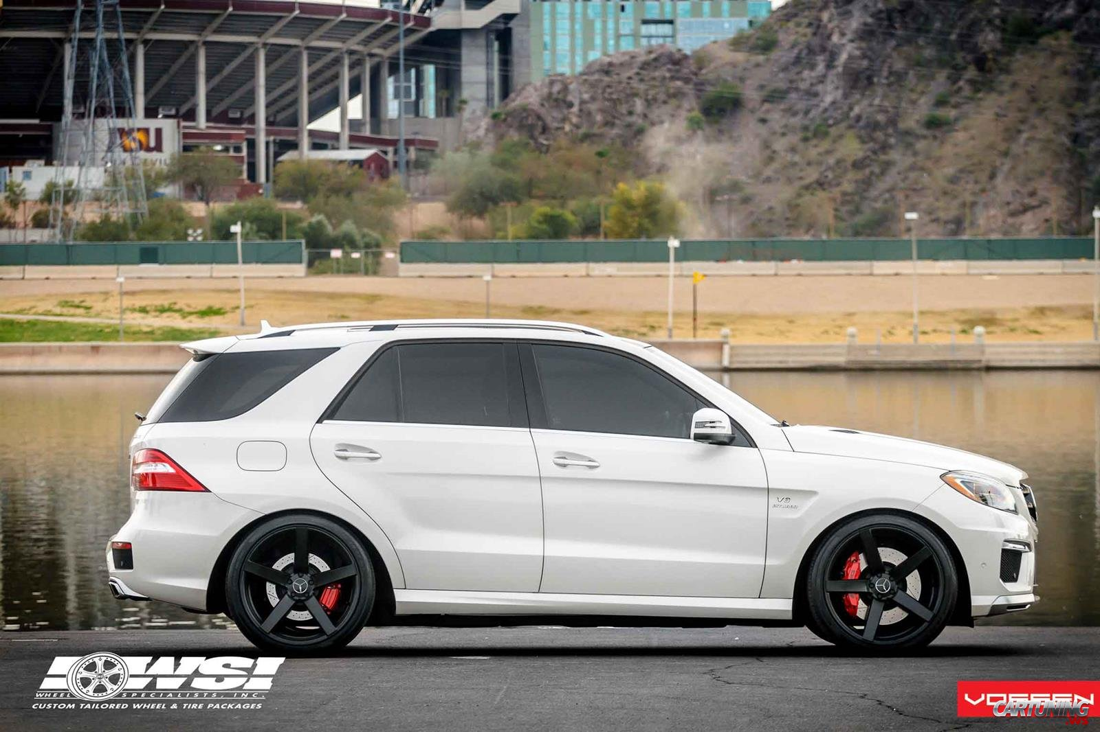 Tuning Mercedes Benz Ml63 Amg W166 Side