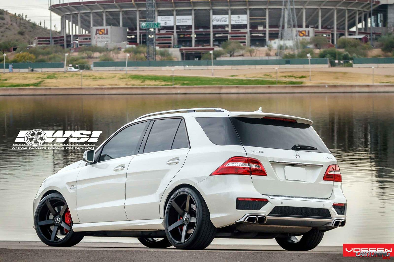 tuning mercedes benz ml63 amg w166 rear. Black Bedroom Furniture Sets. Home Design Ideas