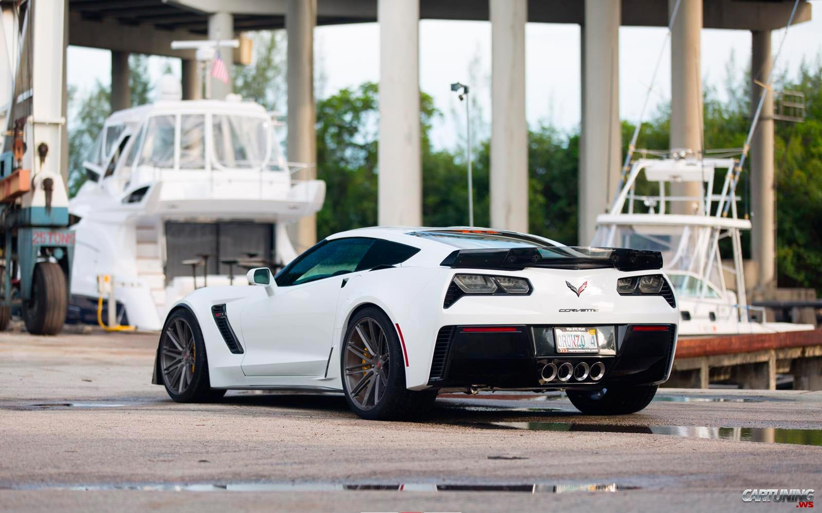 Tuning Chevrolet Corvette Z06 2017 back