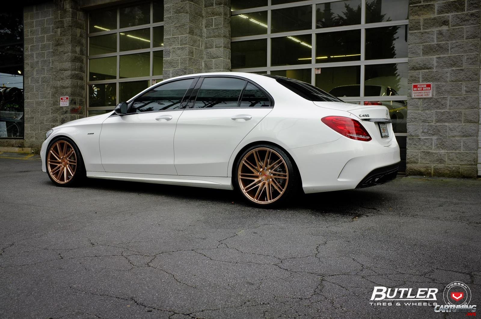 Stance mercedes benz c450 w205 rear for Mercedes benz c450