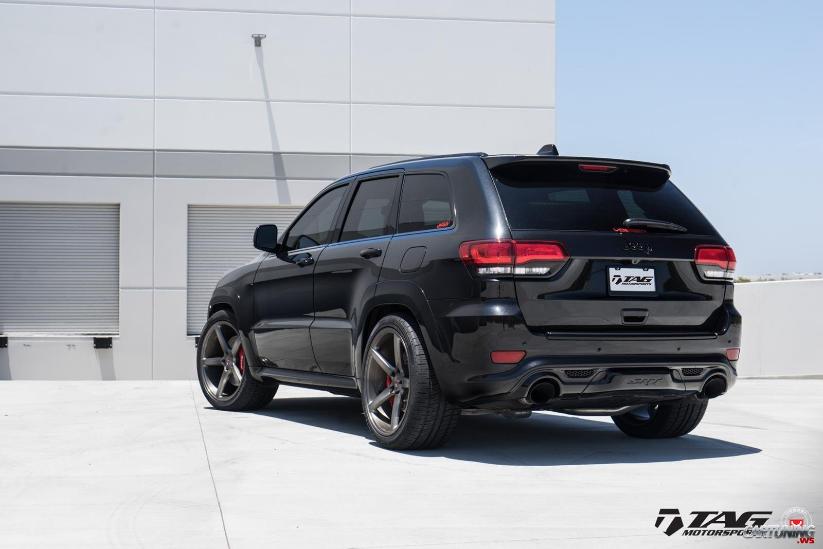 tuning jeep grand cherokee srt8 rear. Black Bedroom Furniture Sets. Home Design Ideas