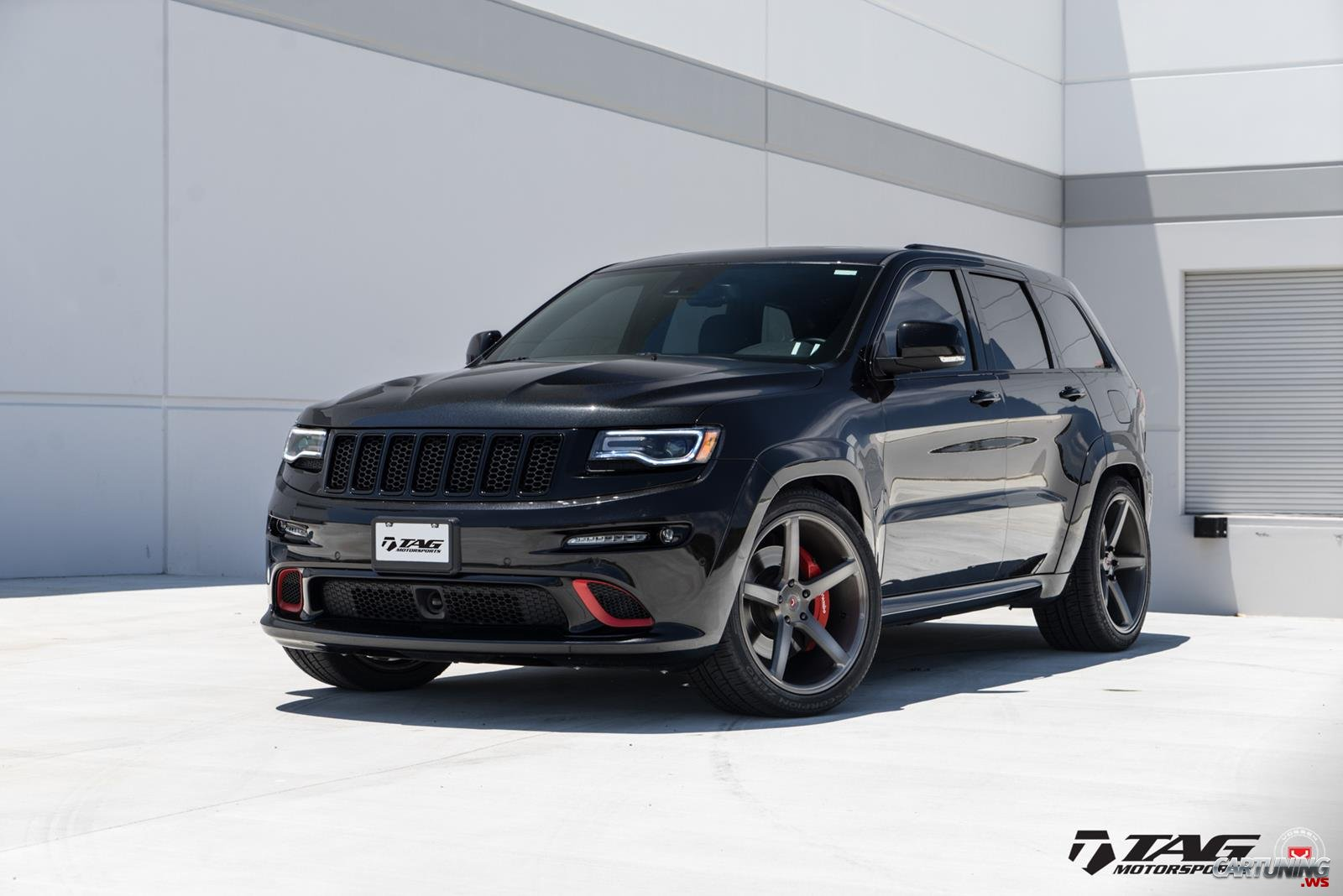 Tuning Jeep Grand Cherokee Srt8