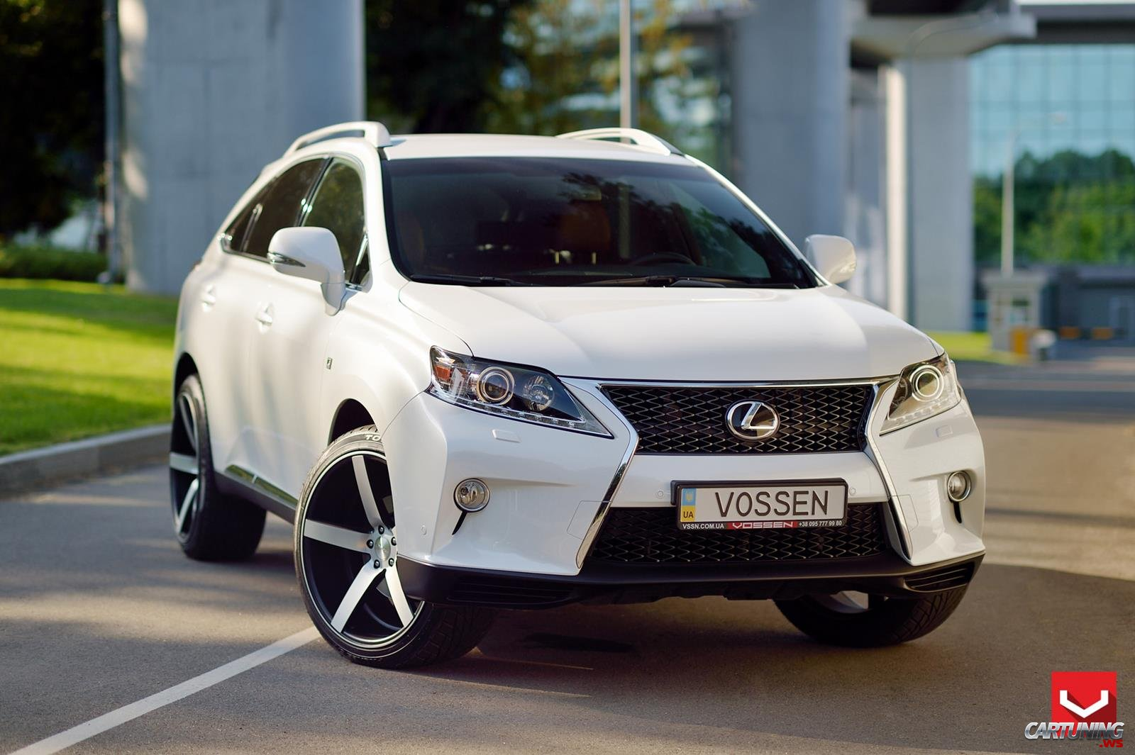 tuning lexus rx 350 front