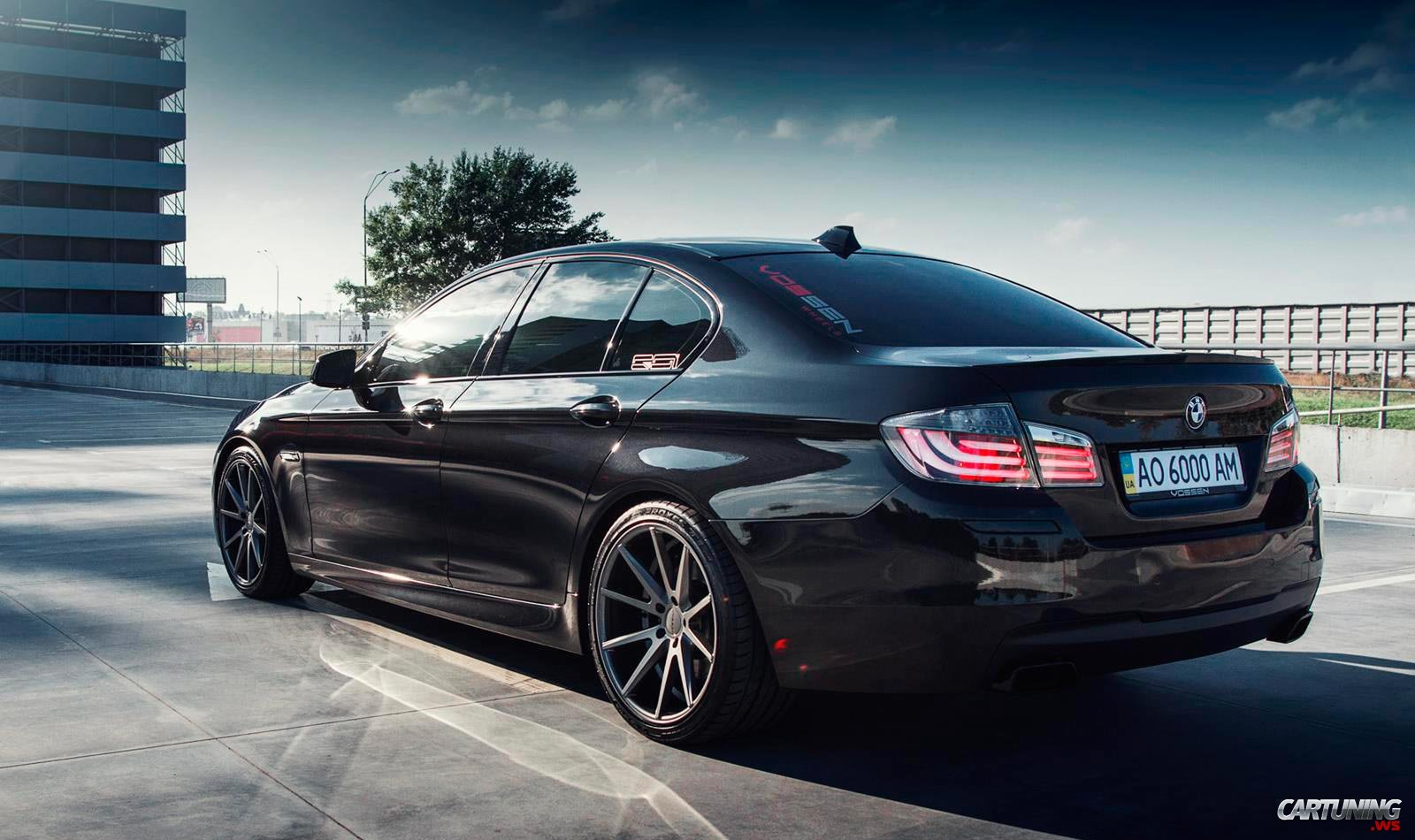 bmw 535i f10 vossen rear. Black Bedroom Furniture Sets. Home Design Ideas