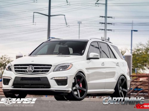 Tuning Mercedes-Benz ML63 AMG W166