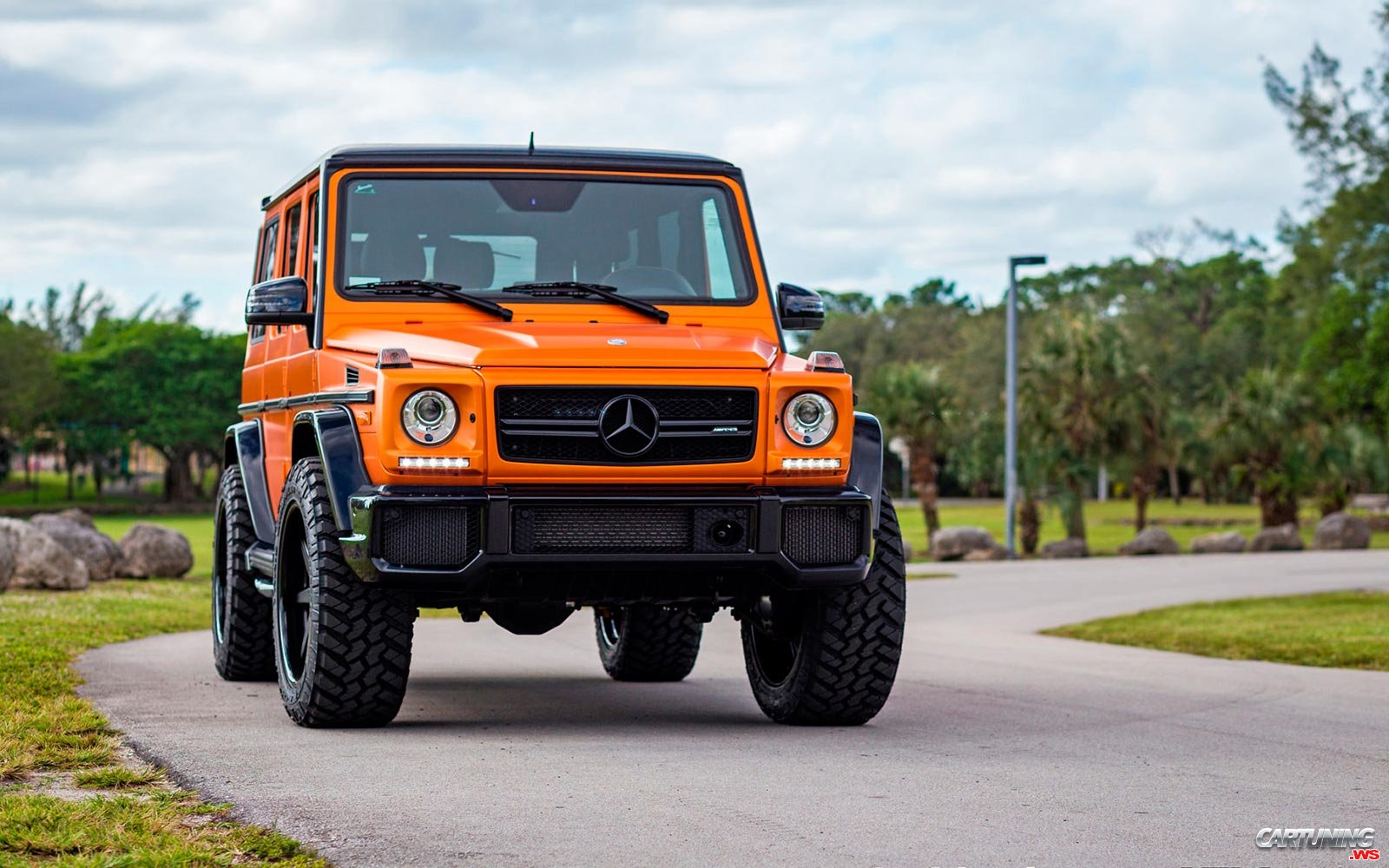 Tuning Mercedes Benz G63 Amg W463 Front