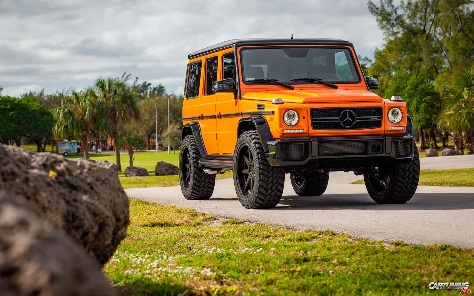2017 Jeep Cherokee Lifted >> Tuning Mercedes-Benz G63 AMG W463