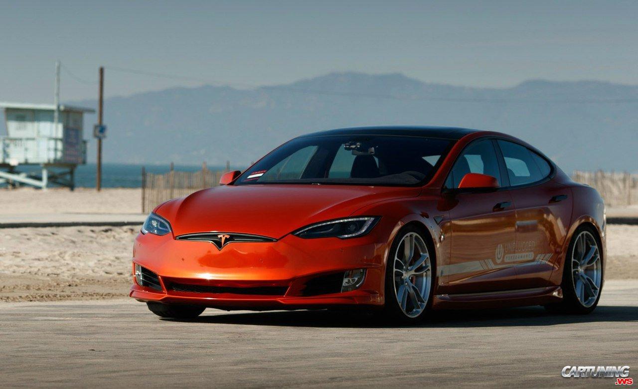 Low Tesla Model S