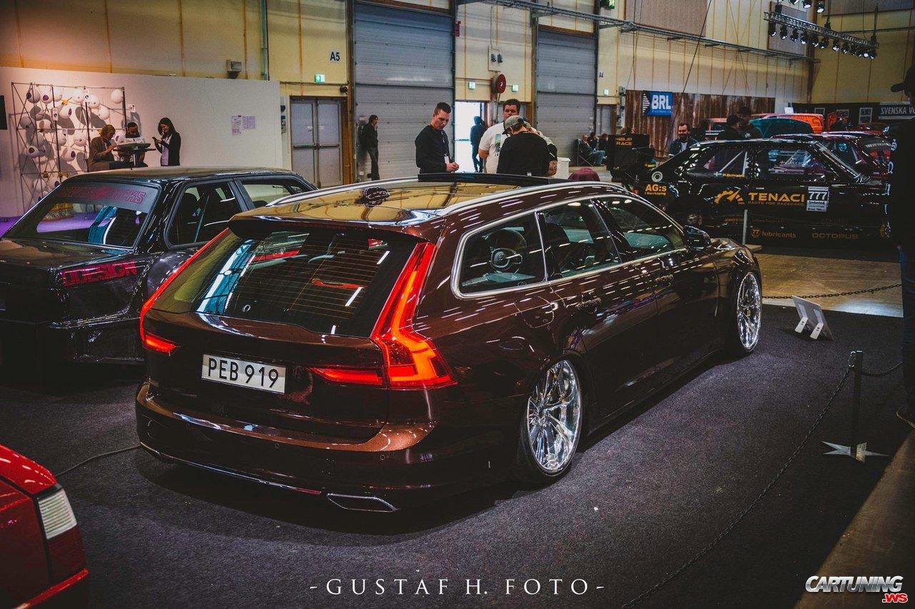 Stance Volvo V90 Rear