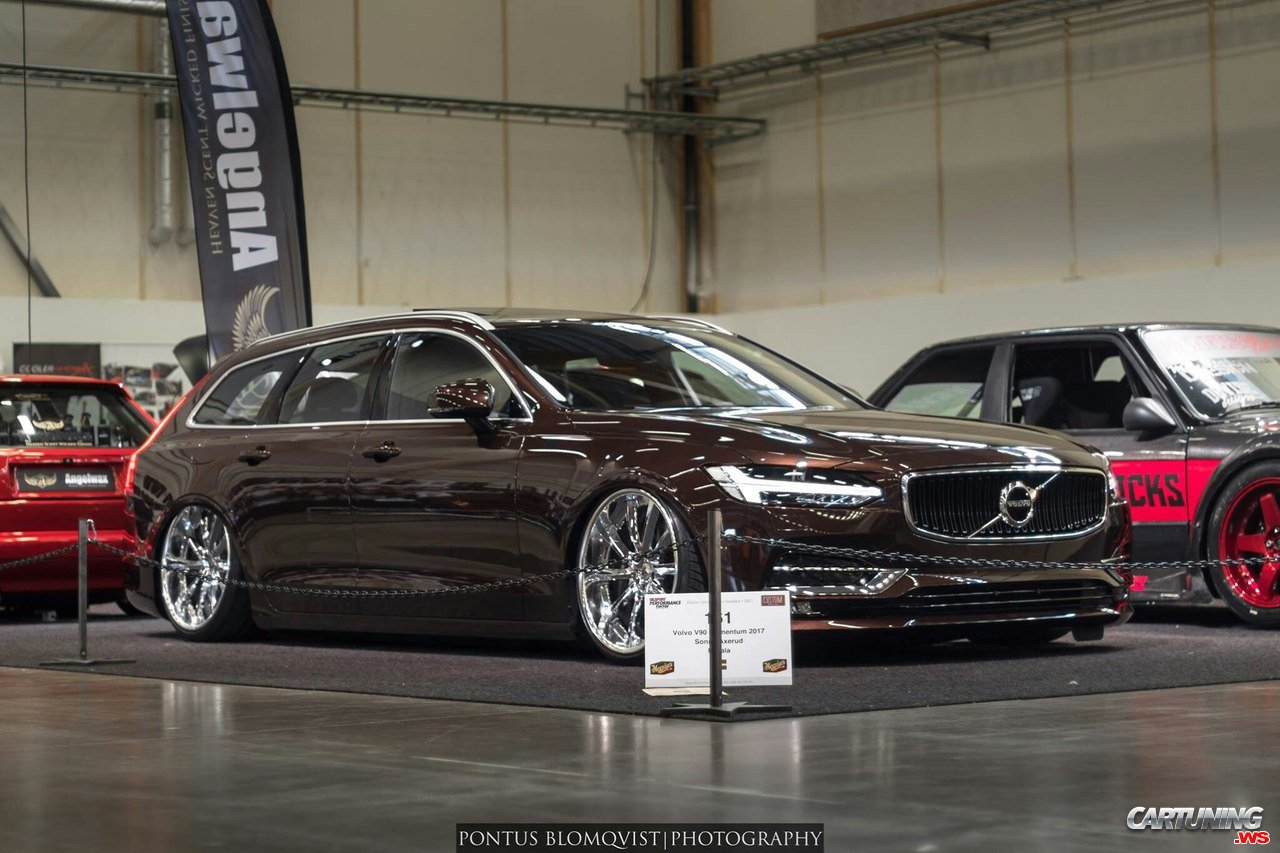 Stance Volvo V90 On Tuning Show