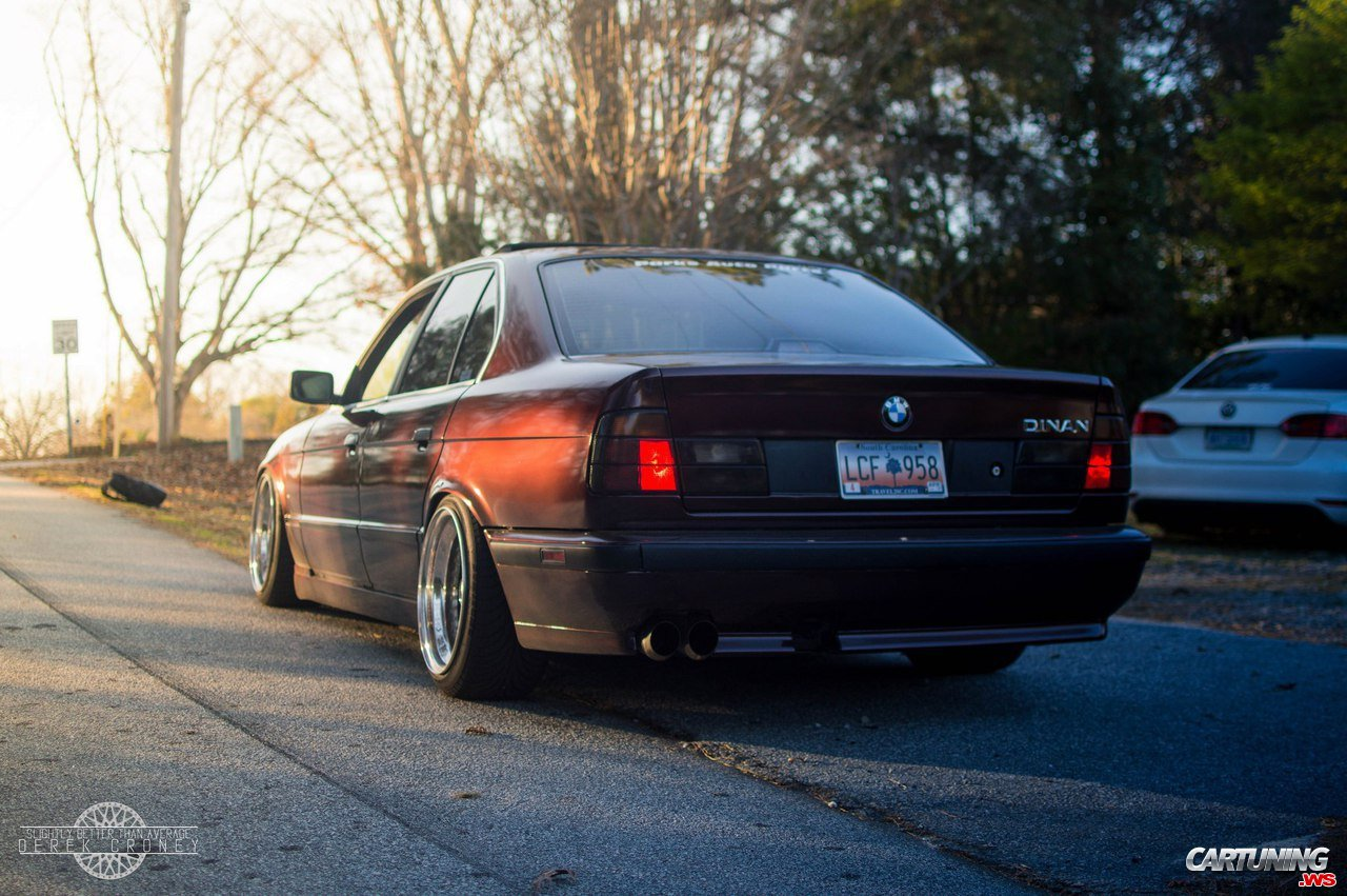 tuning bmw 525i e34 by dinan rear. Black Bedroom Furniture Sets. Home Design Ideas