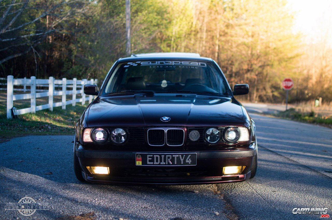 tuning bmw 525i e34 by dinan front. Black Bedroom Furniture Sets. Home Design Ideas