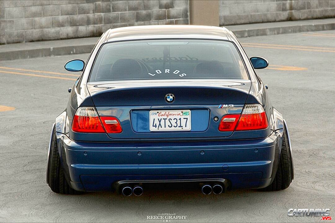 tuning bmw m3 e46 rear. Black Bedroom Furniture Sets. Home Design Ideas