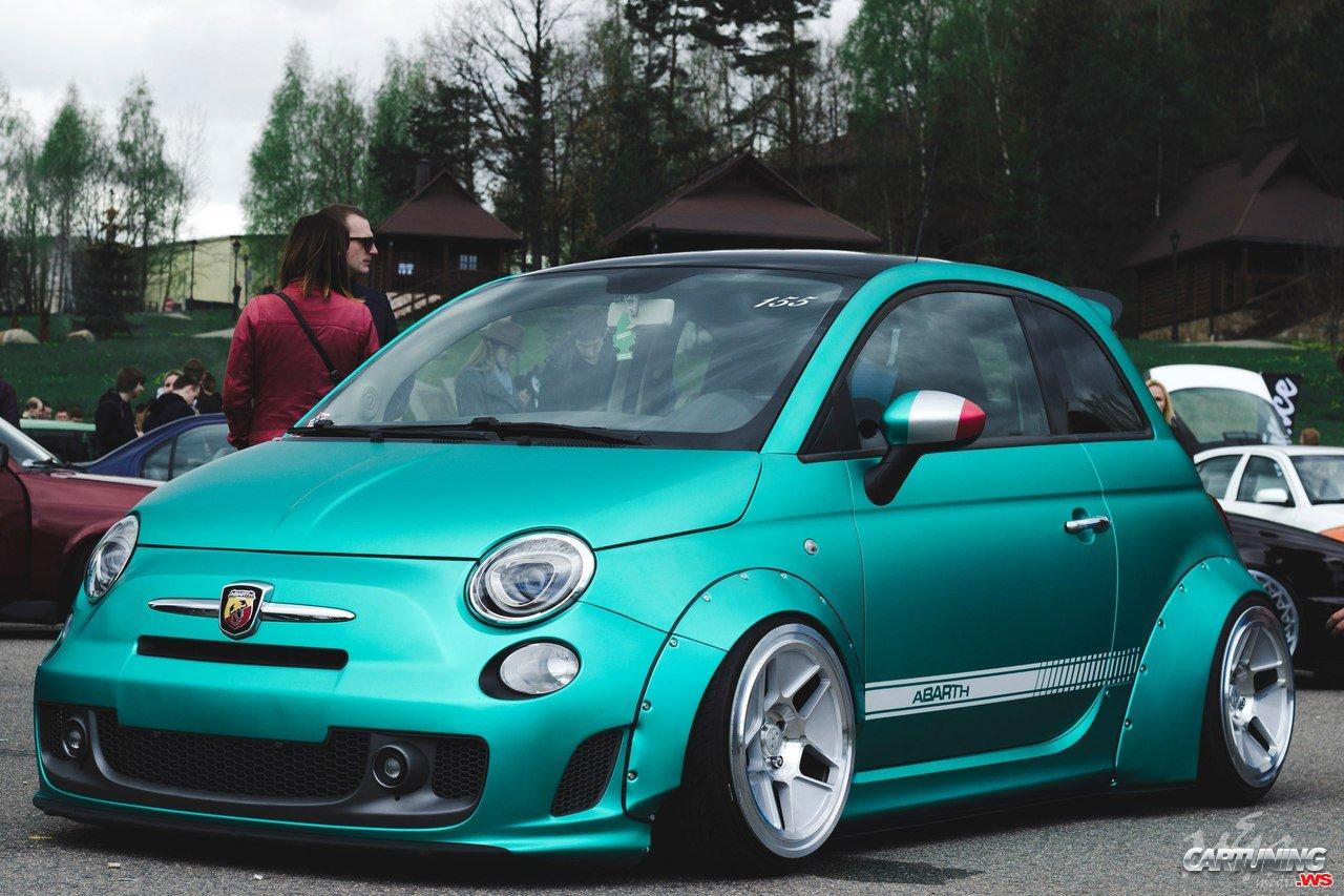Stance Fiat 500 Abarth