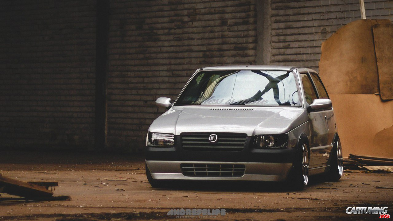 Stance Fiat Uno front