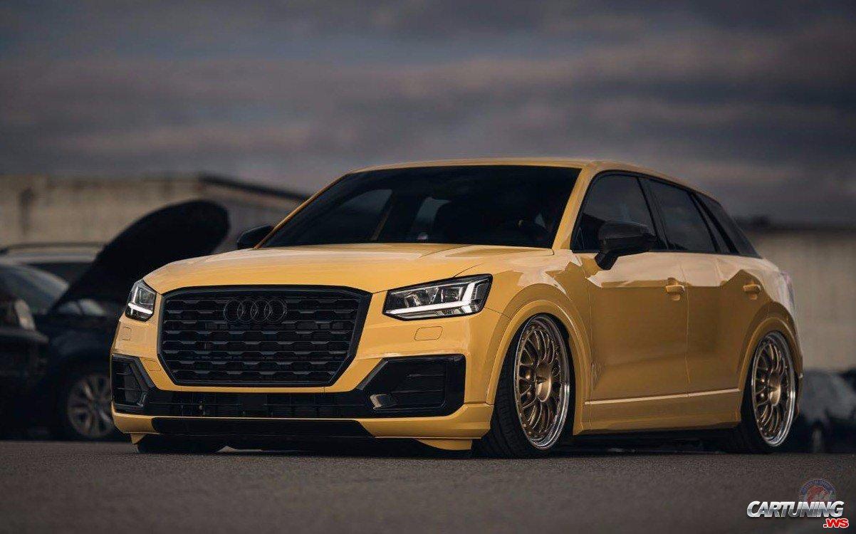 Tuning Audi Q2 side