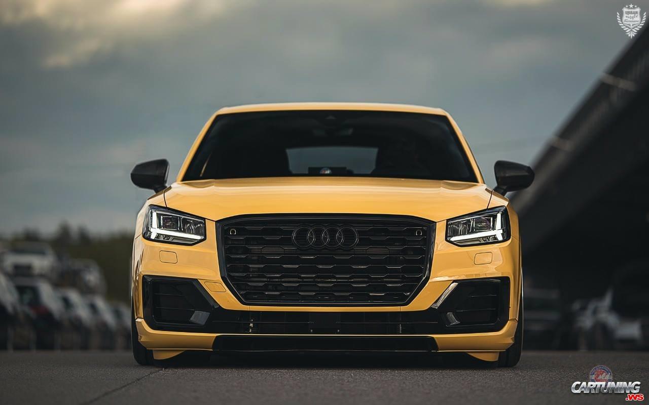 Tuning Audi Q2 front