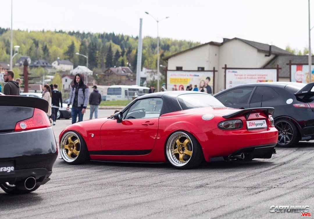 Tuning Mazda MX5 - rear