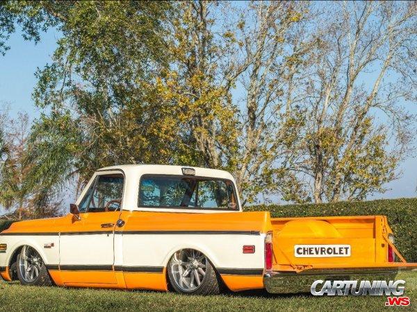 Tuning Chevrolet C10 Cheyenne 1972