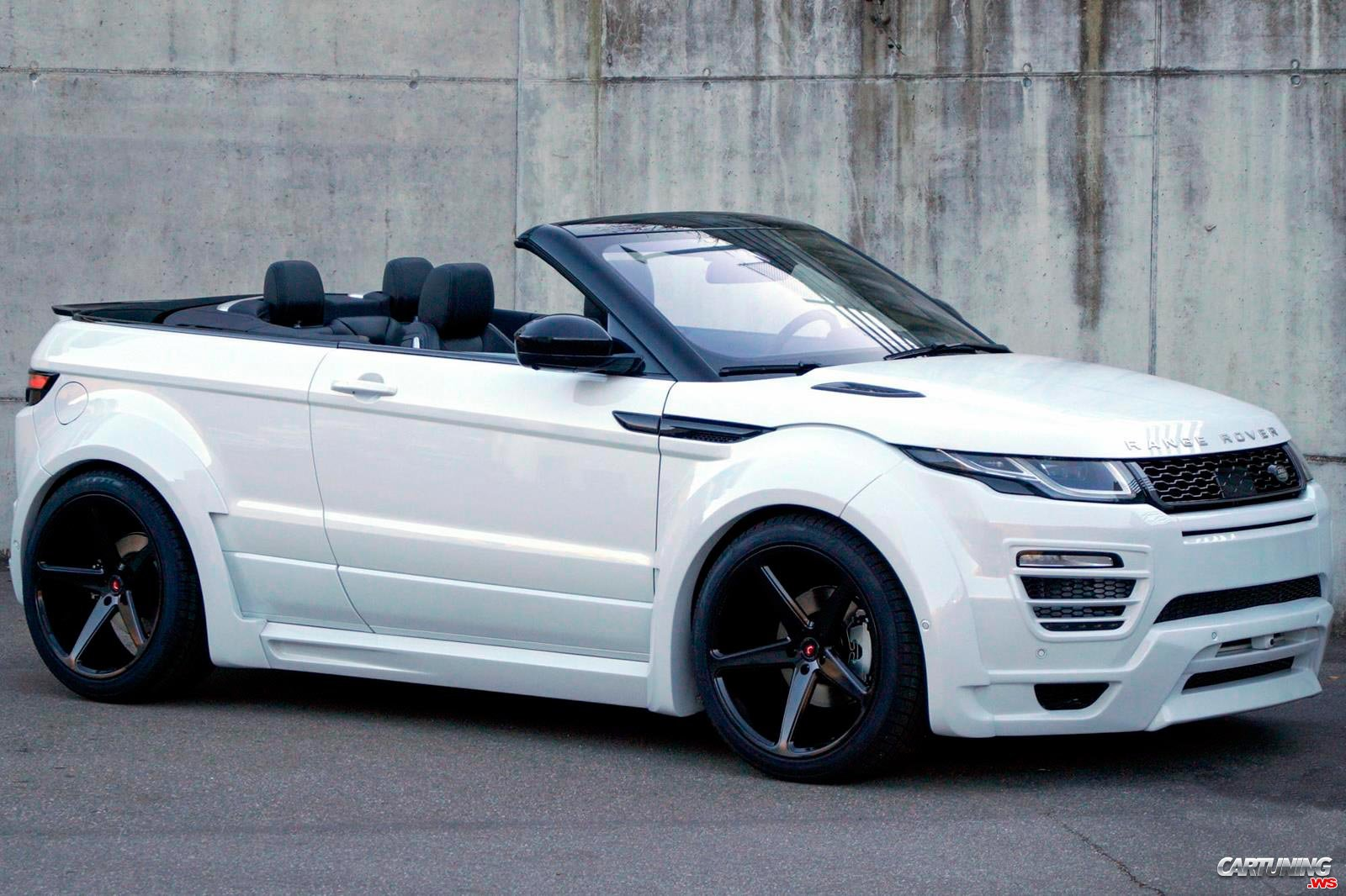 tuning range rover evoque cabrio. Black Bedroom Furniture Sets. Home Design Ideas