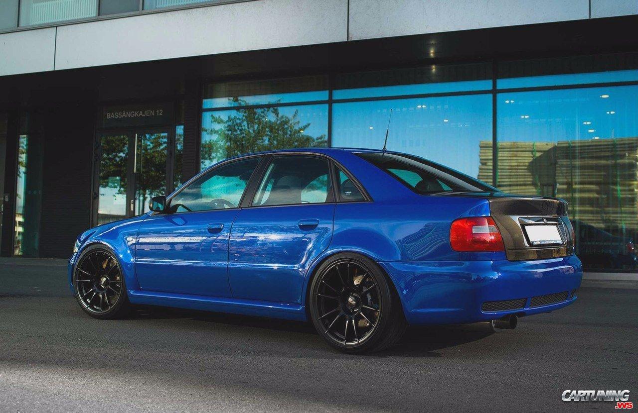 Audi S4 B5 >> Tuned Audi S4 B5 Rear