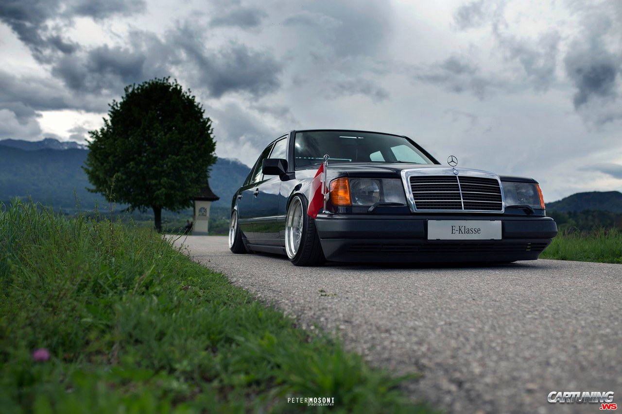 Tuning Mercedes E200 W124 Front