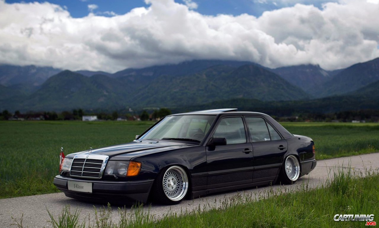 Tuning Mercedes E200 W124 Front And Side