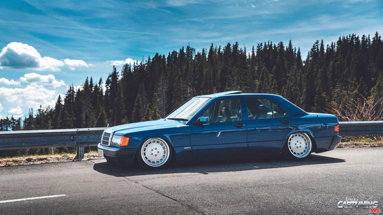 Stance mercedes benz 190 2 0e w201 for Mercedes benz 6550