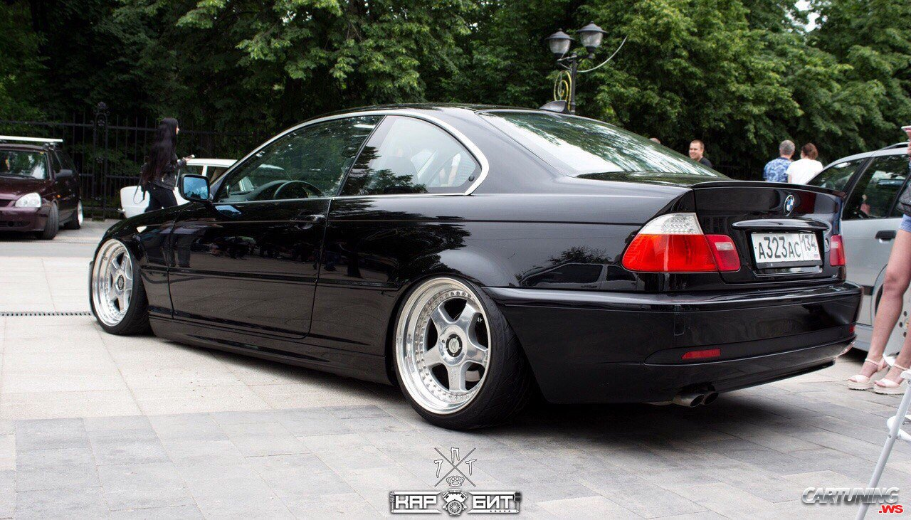 tuning bmw 320i coupe e46 rear. Black Bedroom Furniture Sets. Home Design Ideas