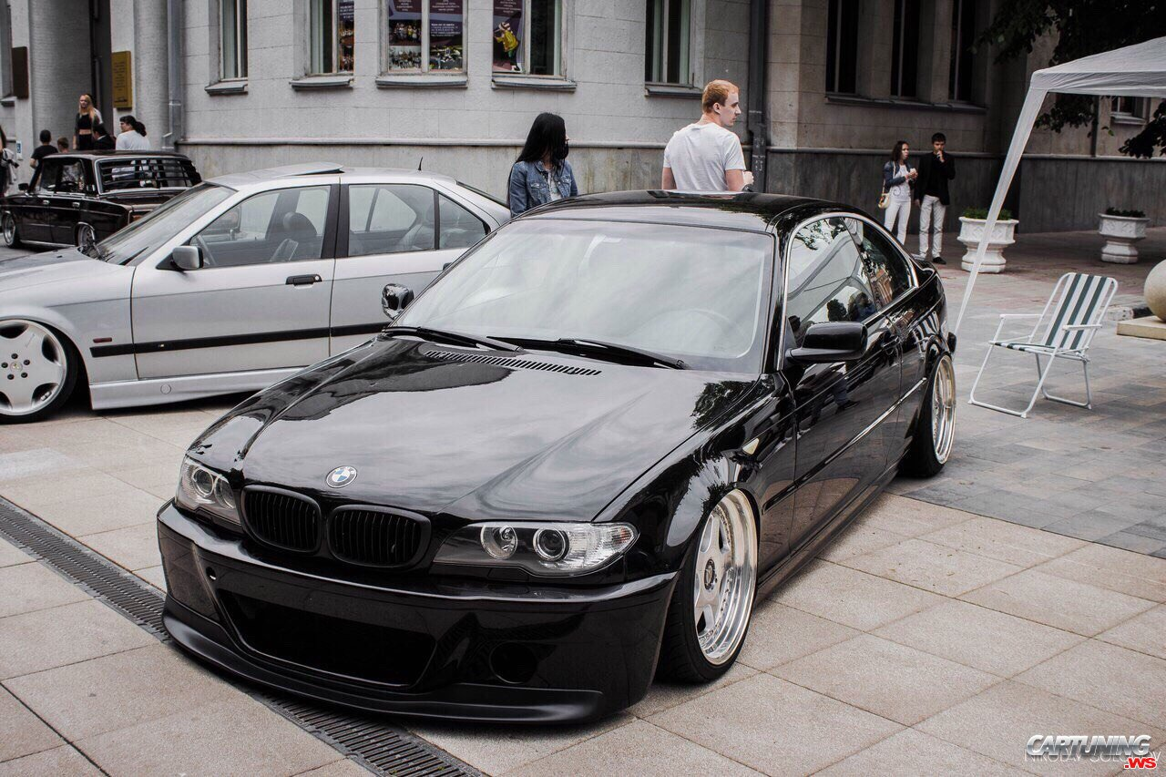 tuning bmw 320i coupe e46 front. Black Bedroom Furniture Sets. Home Design Ideas