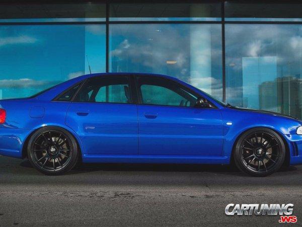 Tuned Audi S4 B5
